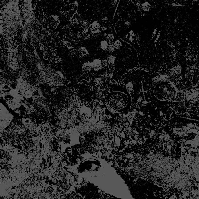 Picture Of The Cover For Primitive Man And Unearthly Trance's Split