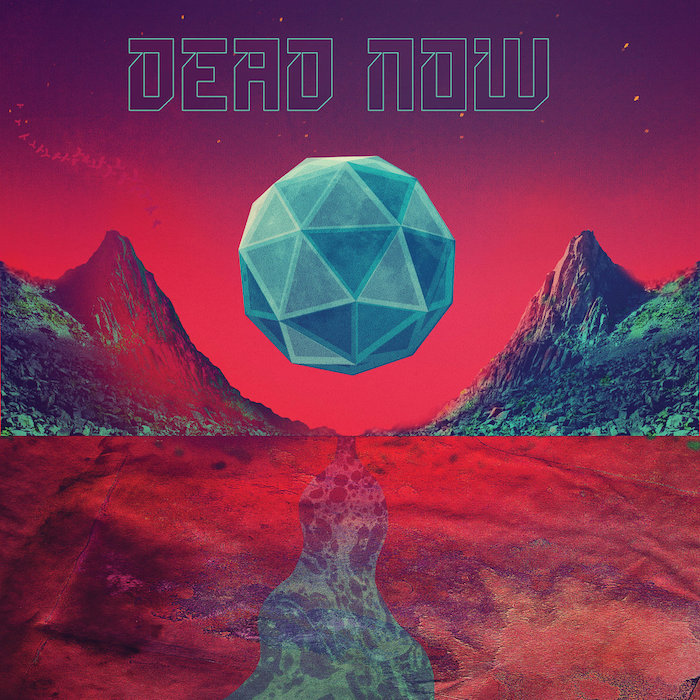 Photo of Dead Now's EP artwork.
